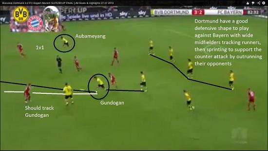 Bayern v Dortmund 8