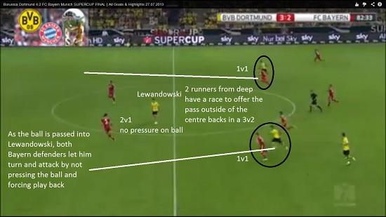 Bayern v Dortmund 9